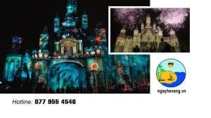 3D Mapping Vinpearl Land Nha Trang 2020