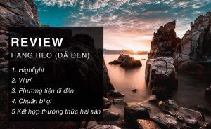 Review Hang Heo Nha Trang (Đá Đen)