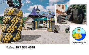 Công Viên Lốp - Tyres Park Nha Trang