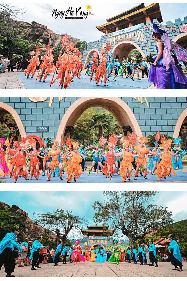 Show diễn ở Vinpearl Land Nha Trang