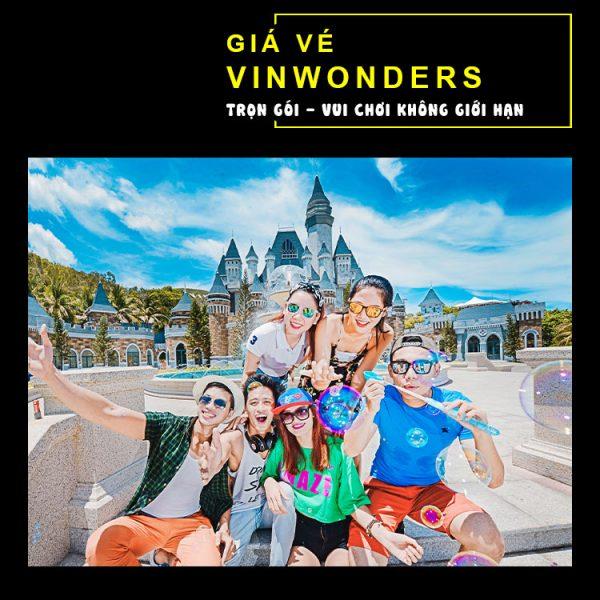 Giá vé Vinwonders Nha Trang