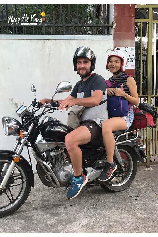 Thuê xe côn tay ở Nha Trang
