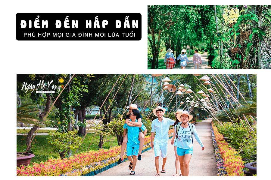 Tour Đảo Khỉ - Suối Hoa Lan