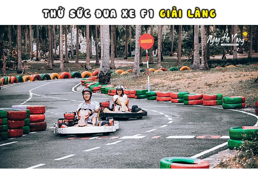 Đua xe công thức F1 tại đảo khỉ