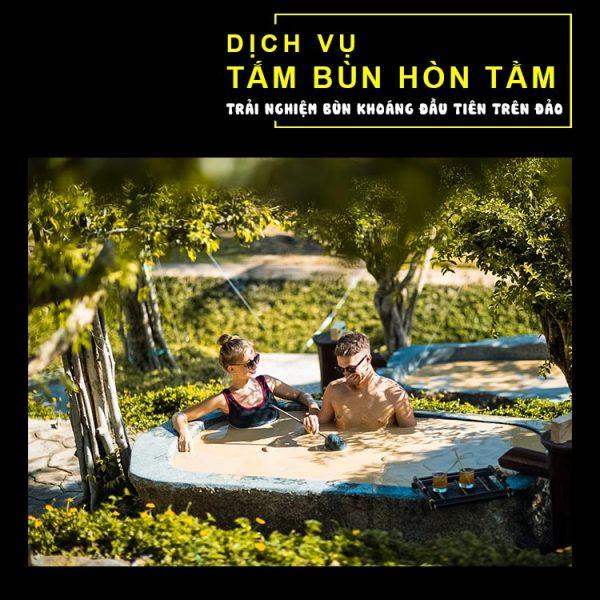Vé tắm bùn Hòn Tằm Nha Trang