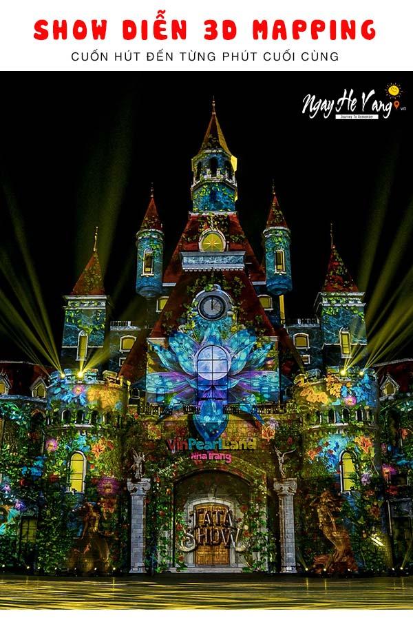 3D Mapping - Show diễn triệu đô