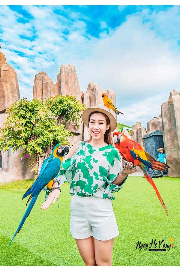 Vườn chim tại Vinpearl Nha Trang
