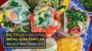 Quán bánh căn ngon ở Nha Trang