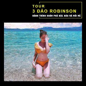Tour 3 Đảo Robinson Nha Trang