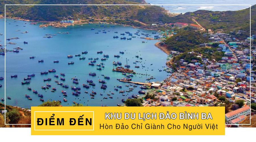 Khu du lịch đảo Bình Ba