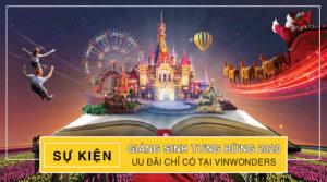 Sự kiện giáng sinh Vinwonders Nha Trang