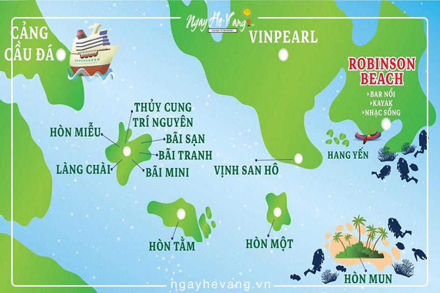 Kinh nghiệm du lịch đảo Nha Trang tự túc