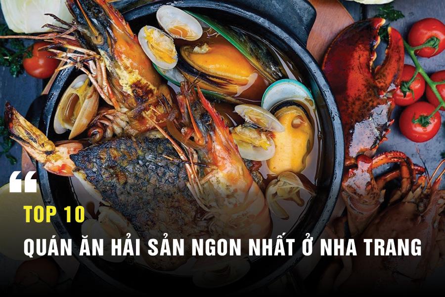 Những quán ăn hải sản ngon ở Nha Trang