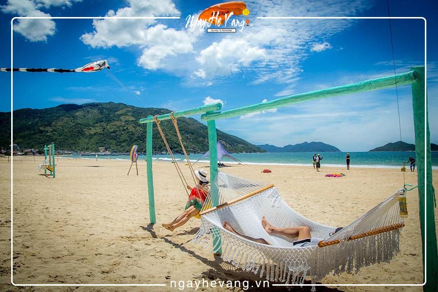 Bãi biển đại lãnh ở Vân Phong