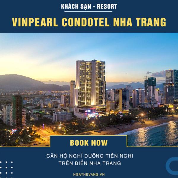 Khách sạn Vinpearl Condotel Beach Front Nha Trang