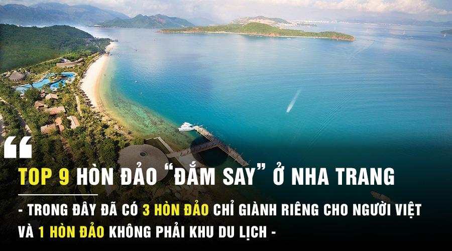 Những hòn đảo đẹp ở Nha Trang