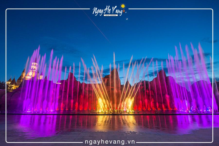 Nhạc nước Vinpearl Nha Trang