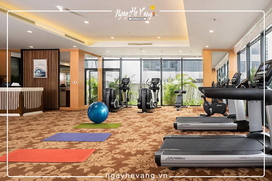 Phòng Gym Vinpearl Condotel Beach Front Nha Trang