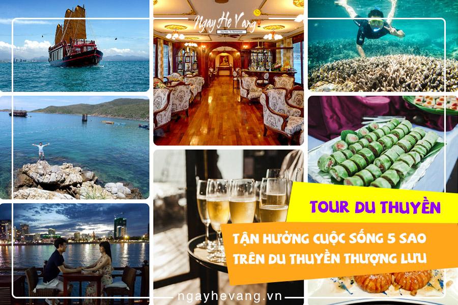 Giá tour du thuyền Nha Trang Emperor Cruises