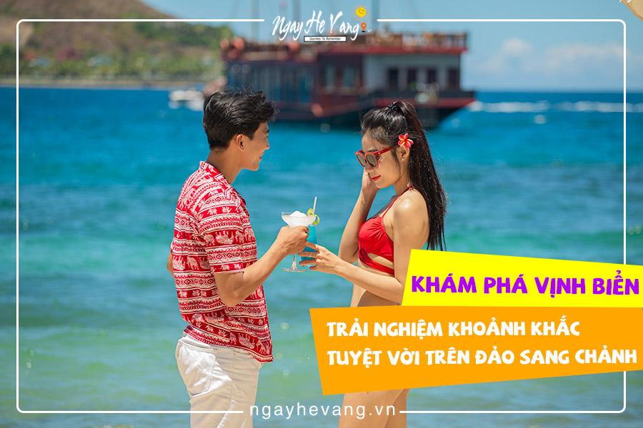 Tour du thuyền ban ngày Nha Trang