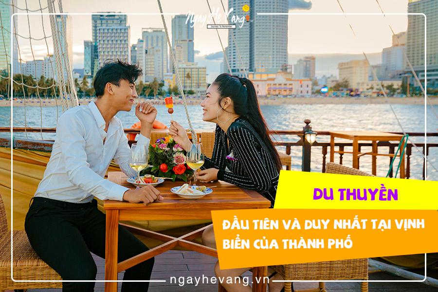 Chương trình du thuyền ngắm hoàng hôn Nha Trang