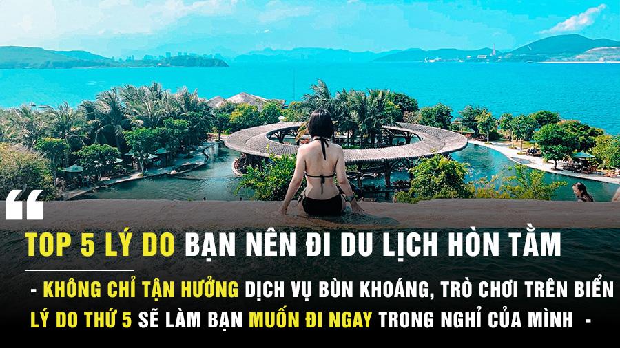 5 lý do để bạn đi du lịch hòn Tằm Nha Trang