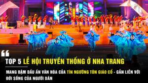 Lễ hội truyền thống ở Nha Trang