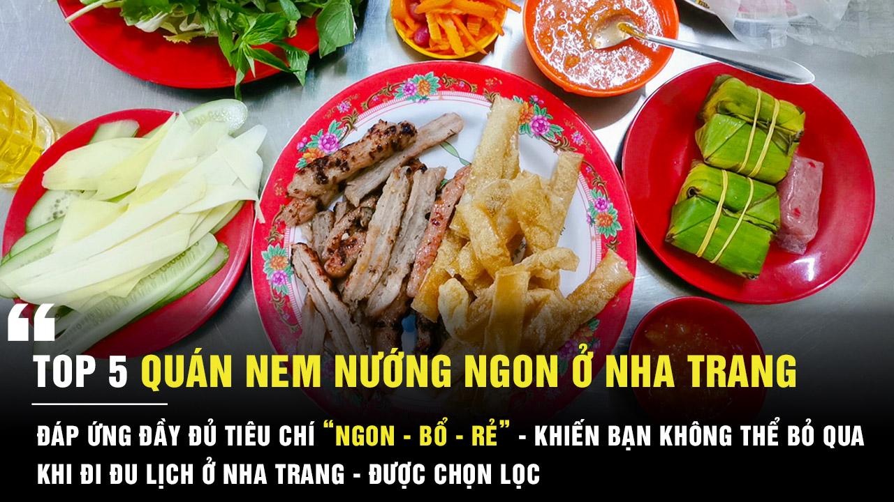 Quán nem nướng ngon ở Nha Trang